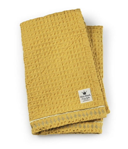 Elodie Details Waffled Blanket Sweet Honey
