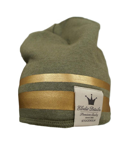 Winter Beanie Elodie Details Guilded Green (LAST PIECES! 0-6M)