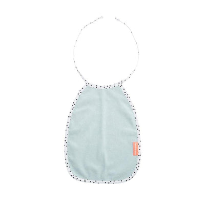 Done by Deer - Dots Terry Bib blue