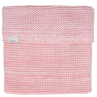 Koeka - Blanket Porto Tea Rose/B. Pink/White