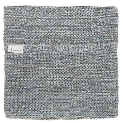 Koeka - Blanket Porto Grey/Soft Blue/Pebble
