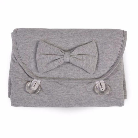 Childhome CHANGING MAT ANGEL JERSEY GREY