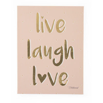 Childhome - OIL PAINTING LIVE LAUGH LOVE