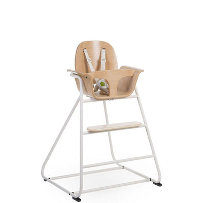 Childhome - IRONWOOD BABY HIGH CHAIR NATURAL + WHITE