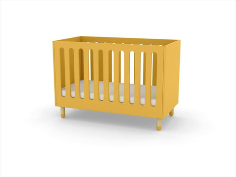Flexa - Baby Bed Play - Yellow  (Mustard)