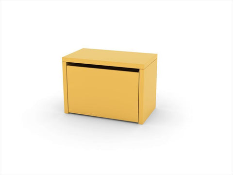3-in-1 Storage Bench Flexa Mustard