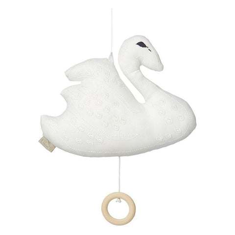 Cam Cam - Swan Music Mobile Off White