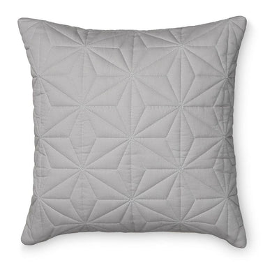 Cam Cam - Quilted Square Cushion Grey