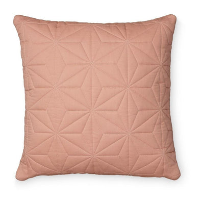 Cam Cam - Quilted Square Cushion Blush