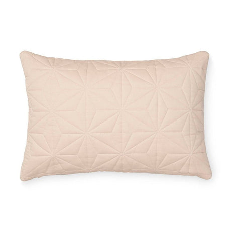 Cam Cam - Quilted Rectangular Cushion Rose