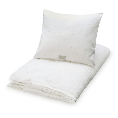 Cam Cam - Bedding Danish Dots Creme Grey