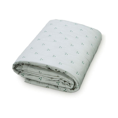 Cam Cam - Dot Quilt Baby Green Dark