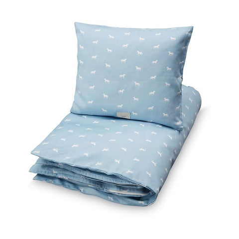 Cam Cam - Bedding Danish Horse dusty blue