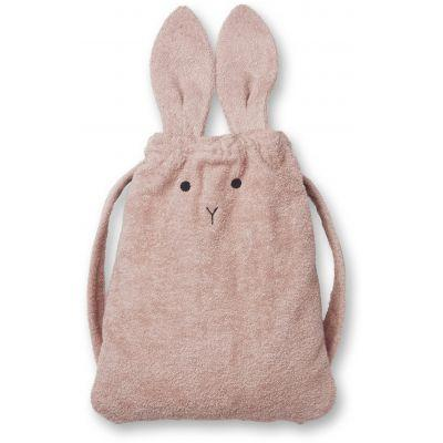 Liewood - Thor Towel Backpack Rabbit Rose