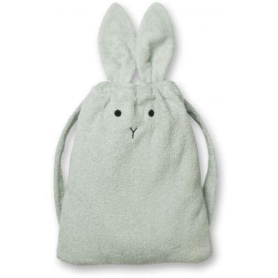 Liewood - Thor Towel Backpack Rabbit Dusty Mint