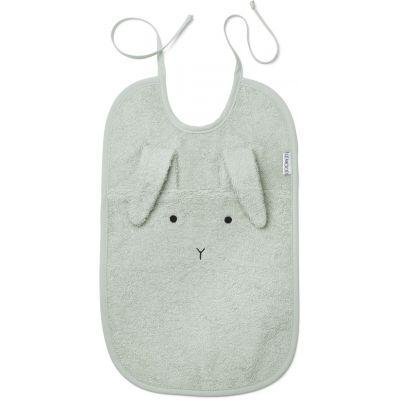 Liewood - Theo Terry Bib Rabbit Dusty Mint