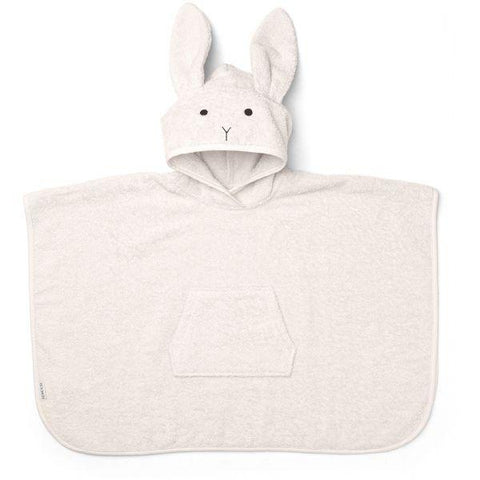 Liewood - Orla Poncho rabbit sweet rose