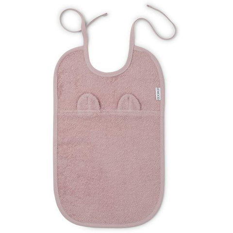 Liewood - Theo Terry Bib Mr. Bear Rose