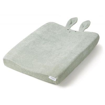 Liewood - Egon Changing Mat Cover Rabbit Dusty Mint