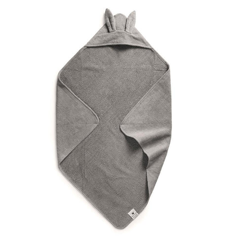 Elodie Details - Hooded towel Marble Grey