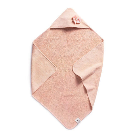 Elodie Details - Hooded towel Powder Pink