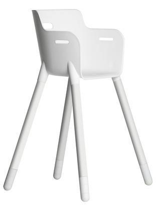 High Chair Flexa White