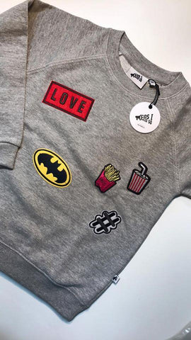 Sweater Love Batman - Kiss My Patch (limited edition 104-110)