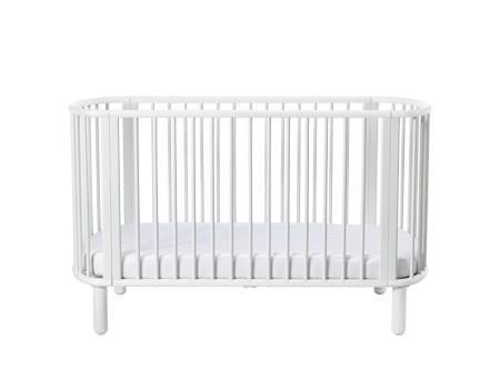 Flexa - 5 in 1 Baby bed - White