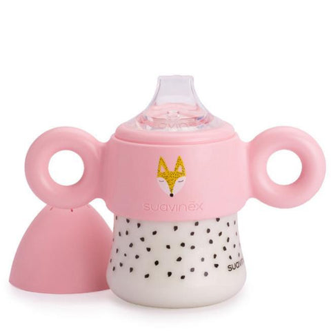 Learning Cup 150 ml (+6m) Suavinex Pink