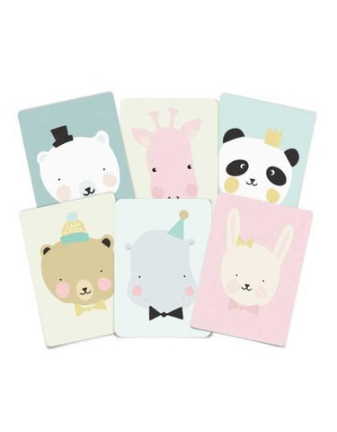 6 postkaarten Eef Lillemor Lovely Animals