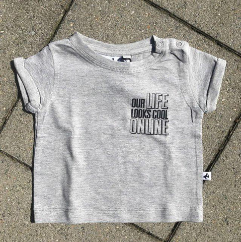 Cos I Said So - T-Shirt Grey Life Online