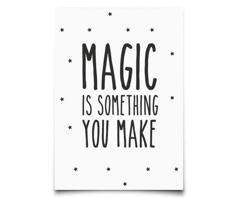 "Poster A3 Eef Lillemor ""Magic"""