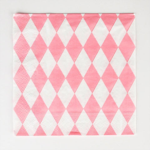 My Little Day - Pink Diamonds Napkins