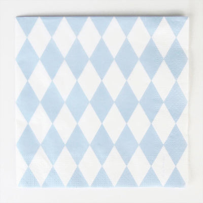 My Little Day - Blue Diamonds Napkins