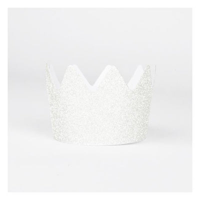My Little Day - Glitter Crowns White