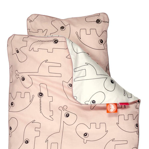 Done by Deer - Baby Contour Bedlinen powder