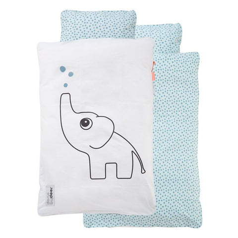 Done by Deer - Baby bedlinen Elphee blue