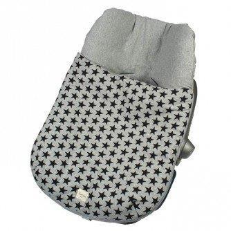 Fundas - Footmuff for car seat Group 0 Fun Black Star