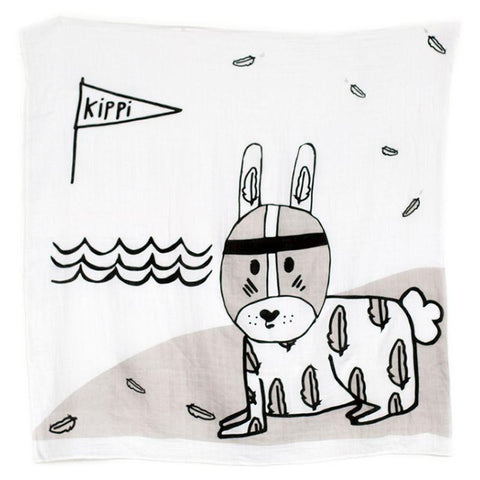 Kippins - Muslin Wrap River Bunny