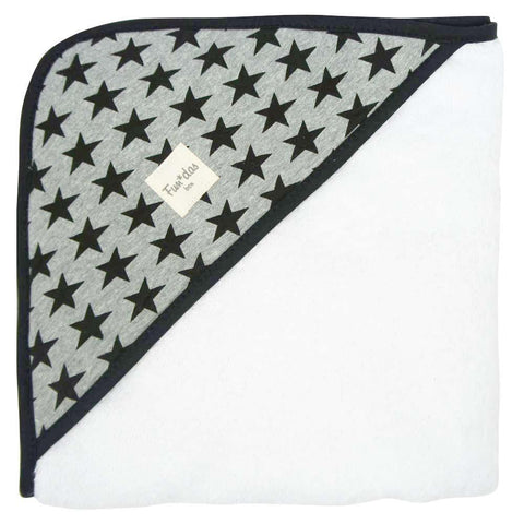 Fundas - Hooded baby towel Black Star