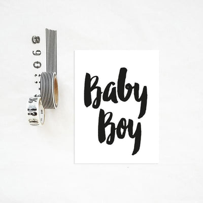 "Wishcard The Birds & the Bees ""Baby Boy"""