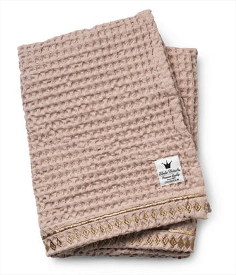 Elodie Details - Waffled Blanket Gilded Powder