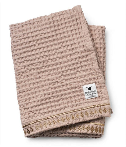 Waffled Blanket Elodie Details Gilded Powder