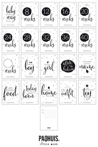 Baby Countdown Cards