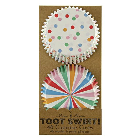 Meri Meri - Toot Sweet Spotty Cupcakes Cases