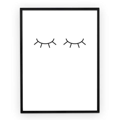 Poster A3 Eyelashes
