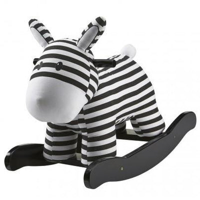 Kids Concept - Rocking Horse Black & White