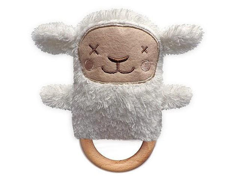 Teether Rattle Sheep O.B. DESIGN