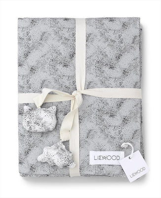 Liewood - Duvet Cover Mini Dot - Dumbo Grey (-30%)