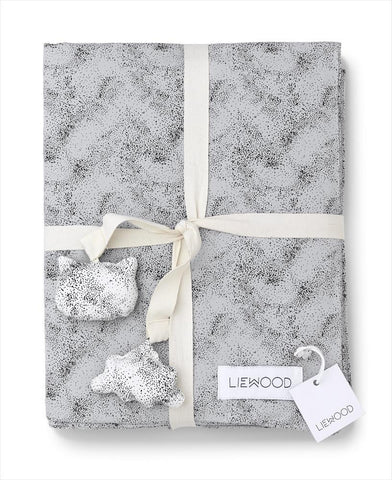 Duvet Cover Mini Dot - Dumbo Grey